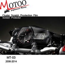 Motoo - New For Yamaha R3 YZF R3 MT-03 MT03 Cluster Scratch Protection Film Screen Protector for Yamaha YZF-R3 MT 03
