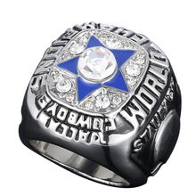 NEW High-grade environmentally friendly alloy 1971 Super Bowl American football Dallas Cowboys championship ring men ring J02028(China)