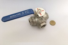 "1/2"" - 1 1/2"" Ball valve L and T-type . Stainless steel 304 .(China)"
