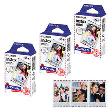 Fujifilm Instax Mini 8 Film Airmail Photo Paper 30 Prints For Fuji Instant Films Camera Mini 9 25 70 90 Neo Polaroid 300 SP-1(Hong Kong)