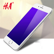 Full Cover Tempered Glass  for iPhone 6 6s 3D Round Edge Toughed Anti Ultraviolet (uv)  Screen Protector Film