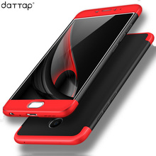 DATTAP Phone Cases For Meizu M3 Note Case 360 Full Protective Case Armor Back Cover For Meizu M3 Note Case Hard PC Coque Fundas(China)