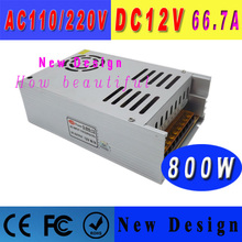 New design led power supply 12v dc block power charger led driver for LED Strip CNC 3D Print 12v 800w Power Supplies with cctv