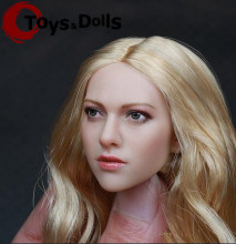 "1/6 Scale Headplay Female Head Sculpt Model Beautiful Girl Head Sculpt For 12"" Action Figure Body Toys Accessories Collections"