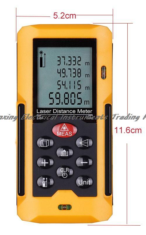4-8 days arrival HT-40 40M Laser Distance Meter Laser Range finder 40m Measure Area/Volume testing<br><br>Aliexpress
