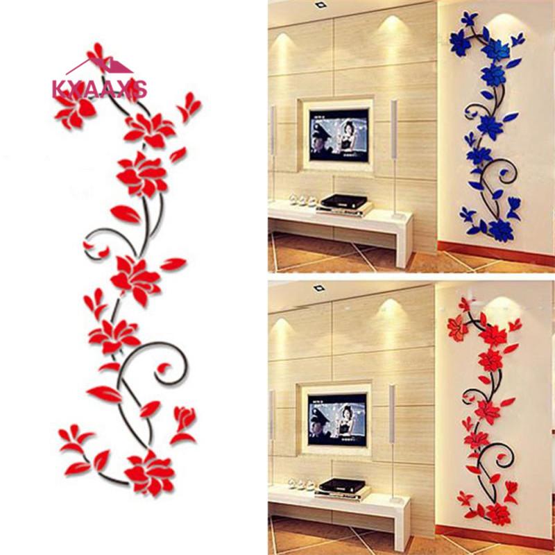 HTB1yi MgL6H8KJjSspmq6z2WXXar - large paper Flower Vine Wall sticker