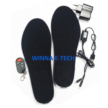 remote control insoles shoes woman insert leather casual shoe electronic fever insoles from China women shoes large size 35-46