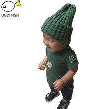 beanies caps children winter hats for girls children winter hat autumn caps boy knitted hat for kids(China)