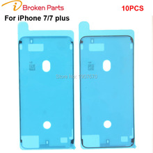 Original Waterproof Pre-Cut Adhesive Glue Tape Sticker For iphone 7 7plus 6s plus LCD Touch Screen Display Frame sticker(China)