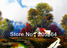 Free shipping Hot sales big size landscape wall tapestry,high technology woven pictures,textile fabric pictures(China)