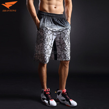 "High Quality 2017 Summer Men""s Basketball Shorts Digital Print Camo Quick-dry Sport Shorts Men Breathable Plus Size S-2XL"