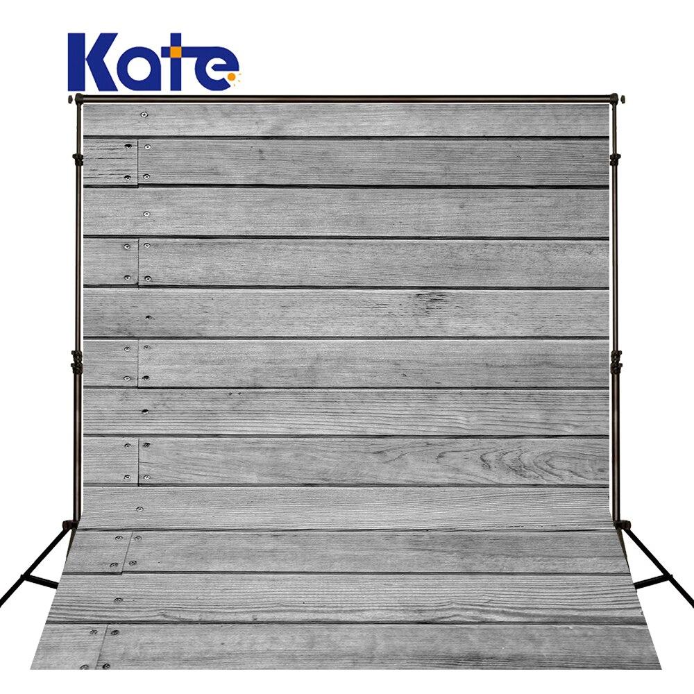 Kate Gray Wood Photography Backdrop 5x7ft Vintage Wood Floor  Backgrounds  Backdrops Children Backgrounds For Photo Studio <br>