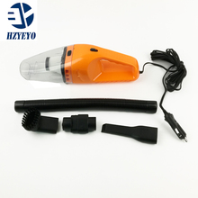 Portable 120W 12V Car Vacuum Cleaner Handheld Mini Super Suction Wet And Dry Dual Use Vaccum Cleaner , HZYEYO ,D2005(China)