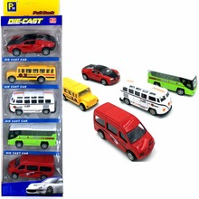 Upslon Die-cast Car Bus Sports car Student car Ambulance 1:64 Toys for children Alloy Cars Model Wholesale-recreational vehicle(China)