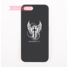 fashion christian cross with Wings for Samsung Galaxy S3 s4 s5 mini active s6 s7 edge plus Note 2 3 lite neo 4 5 7 edge case art(China)