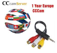1 год/7/8/10 линий Cccam Клайн Поддержка приемник Европейский Ccccam HD сервер для Freesat v7 DVB-S2 HD(China)