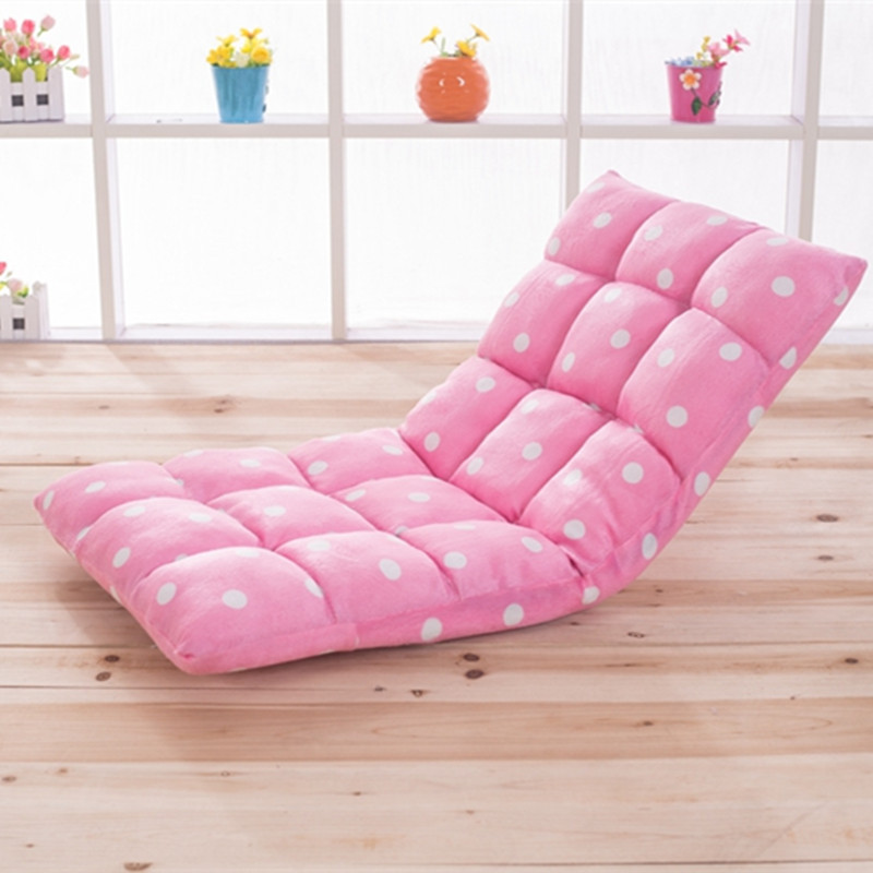 Living Room Sofas Furniture Home Cotton Fabric One Seat Sofa Bed 1105211cm Whole Sale Foldable Portable