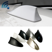 For mitsubishi lancer 10 asx outlander aerial with blank radio signal car roof antenna auto shark fin antena 3M stickers antenas