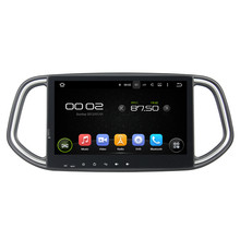 "10.1""Quad Core Pure Android 5.1 Car Multimedia Player Head Unit Fit For Kia KX3 2014 Central Cassette Player Stereo Radio Wifi(China)"