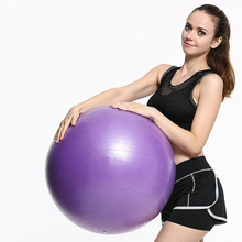 Fitness Yoga Ball Anti-slip Fitball Gym Exercise Pilates Balls With Pump Balance 65 CM bola de pilates Explosion-proof
