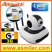 Home security 3g gsm video camera security alarm