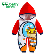 Hooded Christmas Gift Baby Boy Rompers Girl Clothes Newborn Pajamas Winter Snowsuit Jumpsuit Romper Cotton Baby Clothes Outwear