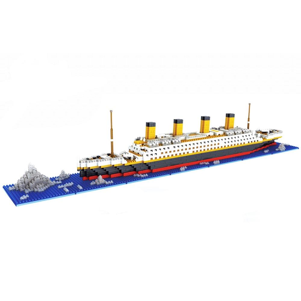 Titanic Blocks Diamond Building Blocks DIY Assemblage Model Mini Bricks Romantic Present Gift for Friend and Family<br><br>Aliexpress