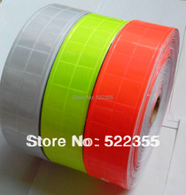 50meter/lot, PVC reflective tape sticker, 5CM width,stick on vehicle,park,roadside,3 Colors, BE SEEN,BE SAFE,free shipping