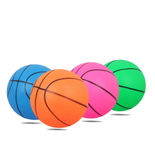 Children's Small Basketball Small Ball Basketball Beat The Ball Baby Fitness Toys Inflatable Ball Pvc Material