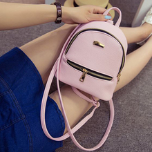 Fashion Rucksack Women Shopping Purse Ladies Joker Bookbag Travel Bag Student school Backpacks Mini Women Backpack