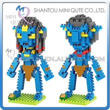 Mini Qute LOZ 2 style Movie character model Avatar Zoe Saldana Sully super hero plastic building block educational toy - MINI QUTE PLASTIC BLOCKS & METAL PUZZLE WORLD store