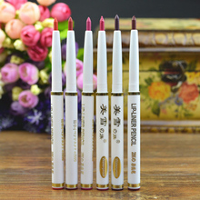LEARNEVER New Arrival 1 Pc Lipliner Best Automatic Rotary Long-lasting Natural Makeup Waterproof Lip Liner Pencil M01942(China)