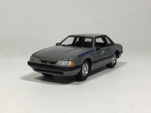 Greenlight 1:64 1991 Ford Mustang kentucky police Diecast car model