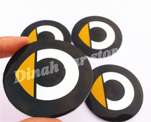 4pcs 56mm 60mm Car Wheel Center Hub Cap Badge Dust-proof covers logo sticker Fortwo Forfour Roadster Forjeremy Forspeed Forstars(China)