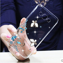sheep bling flower Crystal Cell Phone Shell back cover hard case For Samsung Galaxy J3 2016 J320 J320F J320P J3109 J320M J320Y