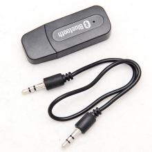 USB 3.5mm Wireless Bluetooth Music Audio Car Handsfree Receiver Adapter