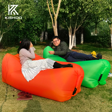 Fast Inflatable air sofa Camping Multifunctional Sleeping Bag Hangout lazy lay laybag Lounger bed Saco de dormir free shipping