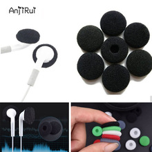 12pcs/6pairs 18mm Soft Foam Earbud Headphone Ear pads Replacement Sponge Covers Tips For Earphone MP3 MP4 Moblie Phone