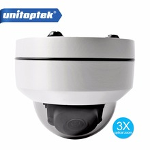 Buy HD 1080P Network PTZ Dome IP Camera 3X Zoom 2.8mm-8mm Motorized Pan Tilt 2.5 inch Mini CCTV Security Camera IP66 Waterproof for $85.55 in AliExpress store