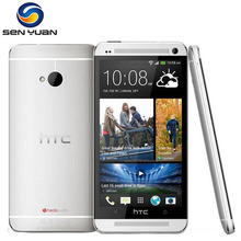 "Original HTC One m7  802w Dual sim Card mobile phone Quad Core  4.7"" TouchScreen 2GB RAM 32GB ROM 3G WIFI GPS cell phone"