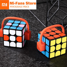 Buy xiaomi mijia Giiker super smart cube App remote comntrol Professional Magic Cube Puzzles Colorful Educational Toys man woman for $27.67 in AliExpress store