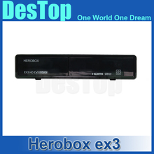 2016 Newest HERO BOX EX3 HD DVB-S2/T2/C Tuner 751MHZ MIPS Processor 256MB Flash/512MB DDR3 HERO BOX EX3