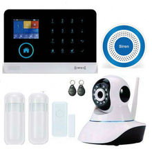 WIFI Alarm Systems Security Home Motion Sensor Self-defense Wireless Alarm Mainframe Kits