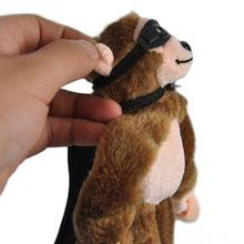 Child Kids plush Slingshot Screaming Sound Mixed for Choice Plush Flying Monkey Toy #45
