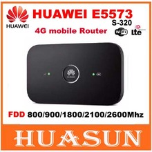 Original Unlocked Huawei E5573 E5573s-320 CAT4 150Mbps 4G LTE FDD Wireless Router 3G Mobile WiFi Hotspot