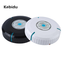 Kebidu Mini Auto Smart Cleaner Robot Fashion Quiet Microfiber Vacuum Robotic Mop Dust Cleaning for Floor Corners Crannies(China)