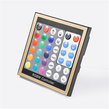 Wall Panel DMX LED Master Touch RGBW Controller DC12-24V Input DMX 512 Signal Output for RGB LED Strip Light Lamp Bulbs