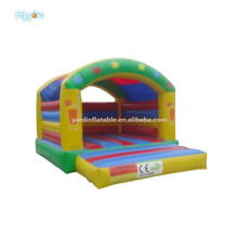 Outdoor Kids Durable Inflatable Mini Bouncy Castle With Air Blowers(China)