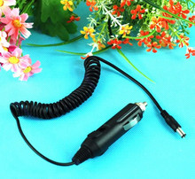 OOTDTY Black Car Auto Vehicle Charger DC 12V 5.5 X 2.1mm Power Adapter Cord