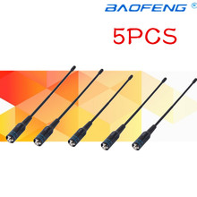 5pcs 701 Dual Band Antenna VHF/UHF 144/430Mhz For BAOFENG UV-5R/BF-888S RETEVIS H777/RT6/RT-5R for Yaesu Ham Radio
